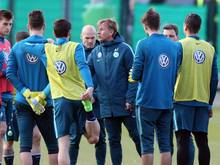 Andries Jonker feiert Samstag seinen Einstand als Trainer des VfL Wolfsburg