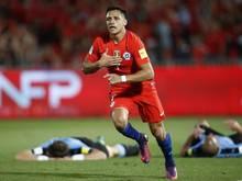 Die Chilenen um Alexis Sanchez gelten als Geheimfavoriten