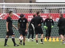 Bundestrainer Joachim Löw während einer Trainingseinheit