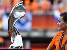 Könnte 2021 in England ausgespielt werden: Der EM-Pokal der Frauen