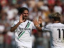 Martin Harnik erzielte für Hannover 96 das 2:1 gegen den Bonner SC