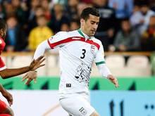 Ehsan Hajsafi darf wieder mitwirken