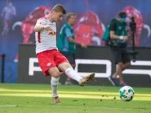 Am zweiten Spieltag nicht zu stoppen: Timo Werner