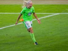 Erzielte für die Wolfsburger den Siegtreffer gegen Bremen: Pernille Harder
