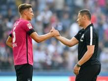Hertha-Trainer Pál Dárdai muss in Bilbao auf Niklas Stark verzichten