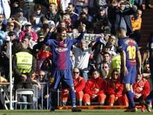 Lionel Messi brillierte auch ohne seinen rechten Schuh