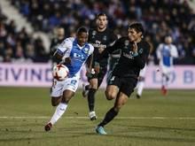 Real Madrid feiert einen Arbeitssieg im spanischen Pokal