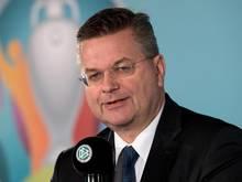 Reinhard Grindel blickt der Nations League positiv entgegen