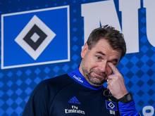 Bernd Hollerbach trainiert jetzt den HSV