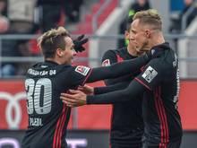 Der FC Ingolstadt hat einen wichtigen Heimsieg gegen Greuther Fürth eingefahren