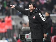 Sandro Schwarz kritisierte seine Mannschaft nach der Pokal-Niederlage