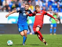 Mitchell Weiser (r.) ist zurück im Mannschaftstraining der Berliner Hertha