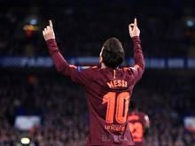 Lob von allen Seiten für Lionel Messi