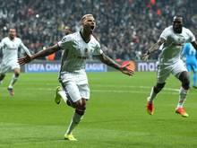 Ricardo Quaresma von Bayern-Gegner Besiktas erzielte zwei Tore gegen Fenerbahce
