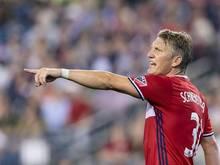 Bastian Schweinsteiger geht mit Chicago in seine zweite MLS-Saison