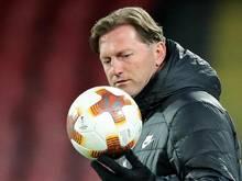 Ralph Hasenhüttl und sein Team spielen in Leipzig wohl vor wenigen Zuschauern
