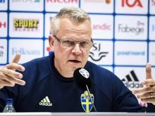 Schwedens Trainer Janne Andersson hat noch keinen Kontakt zu Zlatan Ibrahimovic aufgenommen