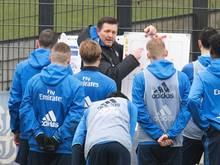 Trotz der langen Sieglos-Serie hat HSV-Coach Christian Titz positive Ansatzpunkte gefunden