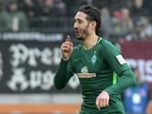 Ishak Belfodil traf doppelt gegen Augsburg