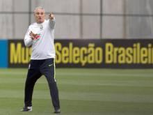 Unter seiner Leitung verlor Rekordweltmeister Brasilien erst ein Spiel: Selecao-Coach Tite