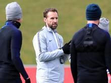 England-Coach Gareth Southgate will sich nicht ablenken lassen