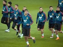Die spanische Nationalmannschaft trifft in einem weiteren Testsiel auf die Auswahl Argentiniens