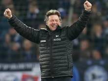 Hat seine Unterschrift unter einen neuen Vertrag bei Arminia Bielefeld gesetzt: Trainer Jeff Saibene