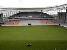 Blick in das Jekaterinburg-Stadion im Osten Russlands