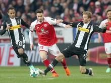 Mainz 05 und und Gladbach trennen sich mit einem torlosen Unentschieden