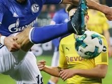 Das Revierderby zwischen Schalke 04 und Borussia Dortmund steht am Sonntagnachmittag im Fokus