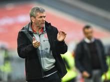 Friedhelm Funkel peilt mit seiner Fortuna den Aufstieg in die Bundesliga an