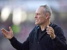 Christian Streich vom beschreibt den Abstiegskampf des SC Freiburg als große Belastung