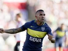 Carlos Tevez und die Boca Juniors verteidigen den Meistertitel in Argentinien