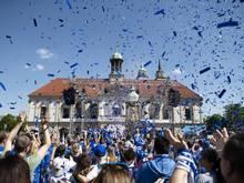 Magdeburg feiert die Drittliga-Meisterschaft mit den SC-Profis
