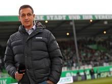 Sportdirektor Rachid Azzouzi bastelt am neuen Fürther Kader