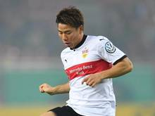 Hannover 96 leiht Stürmer Takuma Asano (hier im Stuttgart-Trikot) vom FC Arsenal aus
