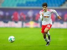 Elias Abouchabaka erhält in Leipzig einen Profivertrag bis 2020
