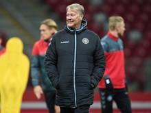 Age Hareide ist der Trainer der dänischen Fußball-Nationalmannschaft