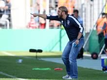 Daniel Bierofka und 1860 München haben eine gute Ausgangsposition für das Rückspiel