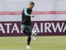 Cristiano Ronaldo trifft zum Auftakt mit seinen Portugiesen auf Spanien