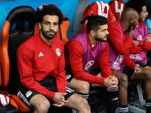 Mohamed Salah kam zum Auftakt gegen Uruguay nicht zum Einsatz