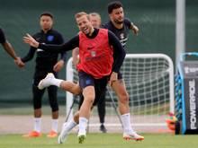 Englands Stürmer Harry Kane hat bei der WM große Ziele