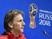 Ricardo Gareca hat sein Team mit einer langen Ansprache auf das nächste Spiel eingestimmt