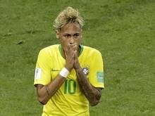Sorgte mit seiner extravaganten Frisur für Aufsehen: Neymar