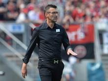 Nürnbergs Cheftrainer Michael Köllner will keine voreiligen Transfers