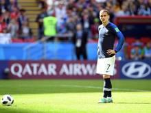 Antoine Griezmann muss mit einer Knöchelverletzung kürzer treten