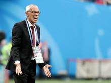 Wird in Ägypten heftig kritisiert: Nationaltrainer Héctor Cúper