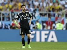 Auf Lionel Messi liegt der Druck einer ganzen Nation