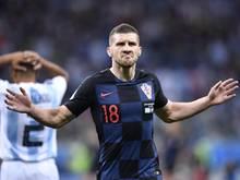 Der Kroate Ante Rebic traf gegen Argentinien