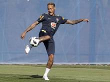 Die Serben wollen vor allem Brasiliens Topstar Neymar stoppen